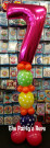 Quick Link Balloon Column Birthday