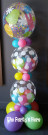 Easter Gumball Bubble Column Pastel