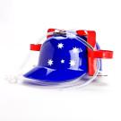 Aussie Flag Drinking Hat