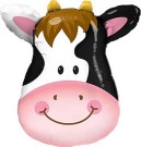 Cow Qualatex Foil Balloon Shape