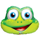 Frog Qualatex Foil Balloon Shape