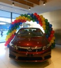 Garland Balloon Arch Promotions