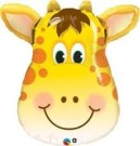 Giraffe Supershape Foil Balloon Qualatex