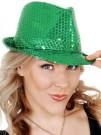Green Sequin Hat