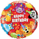 Jungle Animals Foil Balloon Qualatex