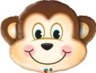 Monkey Foil Shape Qualatex Balloon