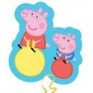 Peppa George Shape Foil Balloon