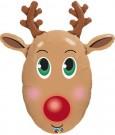 reindeer balloon shape qualatex