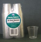 Clear Plastic Shot Glasses