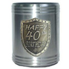 Stubby Holder Can Cooler 40th Birthday
