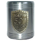 Stubby Holder Can Cooler 50th Birthday