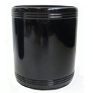 Stubby holder plain black