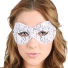 White Lace Mask Masquerade