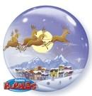 Christmas Sleigh Bubble Balloon