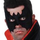 Batman Mask Felt Black