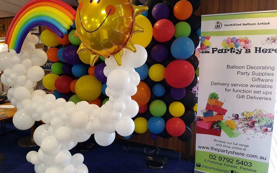 Balloon Wall Frame