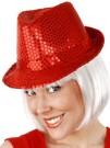 Red Sequin Hat
