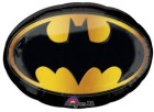 batman logo foil balloon