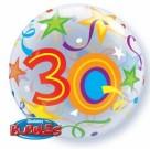 30th Birthday Bubble Balloon