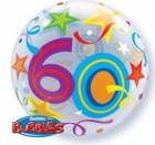 60th Birthday Bubble Balloon