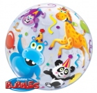 animals jungle safari bubble balloon qualatex