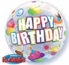 Cupcakes Birthday Bubble Balloon