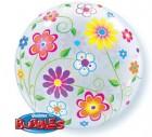 Flowers Bubble Balloon