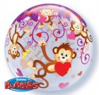 Love Monkey Bubble Balloon