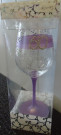 60 Mary T Designs Lavender Wine Glass