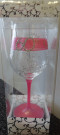 Pink Mary T Design 60 Wine Glass