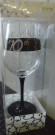 Black 70 Wine Glass Mary T Designs