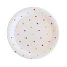 Rainbow Stars Dessert Plate Illume Partyware