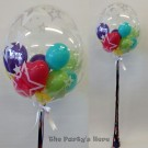 Gumball Balloon Bubble Foil Tassel Custom