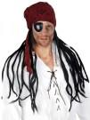 Pirate Wig Black Dreadlocks