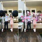 Gender Reveal Jumbo Balloon Pink Baby