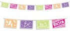 Day of the Dead Picado Mexican Bunting Banner