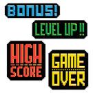 Gaming Cutout Signs Party