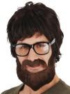 Hipster Beard Mo Dress Up Costume