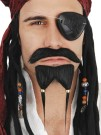 Pirate Beard Mo Moustache Goatee Dress up Costume