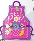 Best Mum Apron Foil Balloon Qualatex
