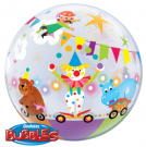 circus bubble balloon qualatex
