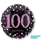 100th Birthday Foil Balloon