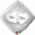 Mr Mrs Foil Balloon