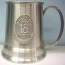 18th Pewter Mug Stein Birthday