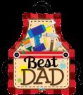 Best Dad BBQ Apron Balloons