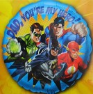 Justice League SuperHero Dad Father Balloon