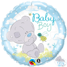 Baby Boy Tatty Teddy Blue Nose Bear Qualatex Foil Balloon