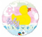 Baby Shower Duck Qualatex Foil Balloon
