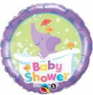 Baby Shower Elephant Qualatex Foil Balloon