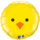 chick easter foil balloon